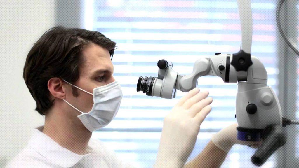 Endodontie la microscop MG Dental
